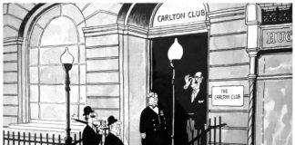 Cartoon of The Carlton Club