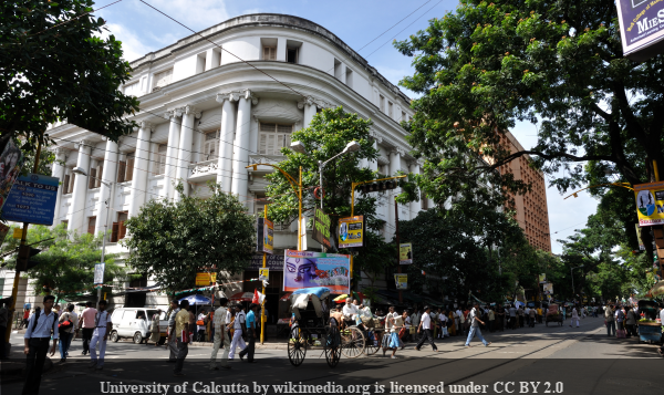 University of Calcutta by wikimedia.org is licensed under CC BY 2.0