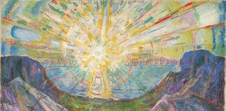 The Sun 1910–13 Oil on canvas 162 x 205 Munch Museum © Munch Museum/Munch-EllingsendGroup/DACS 2012