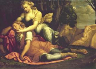 ©Gemäldegalerie Alte Meister, Staatliche Kunstsammlungen Dresden, Foto: Garofalo, Diana and Endymion