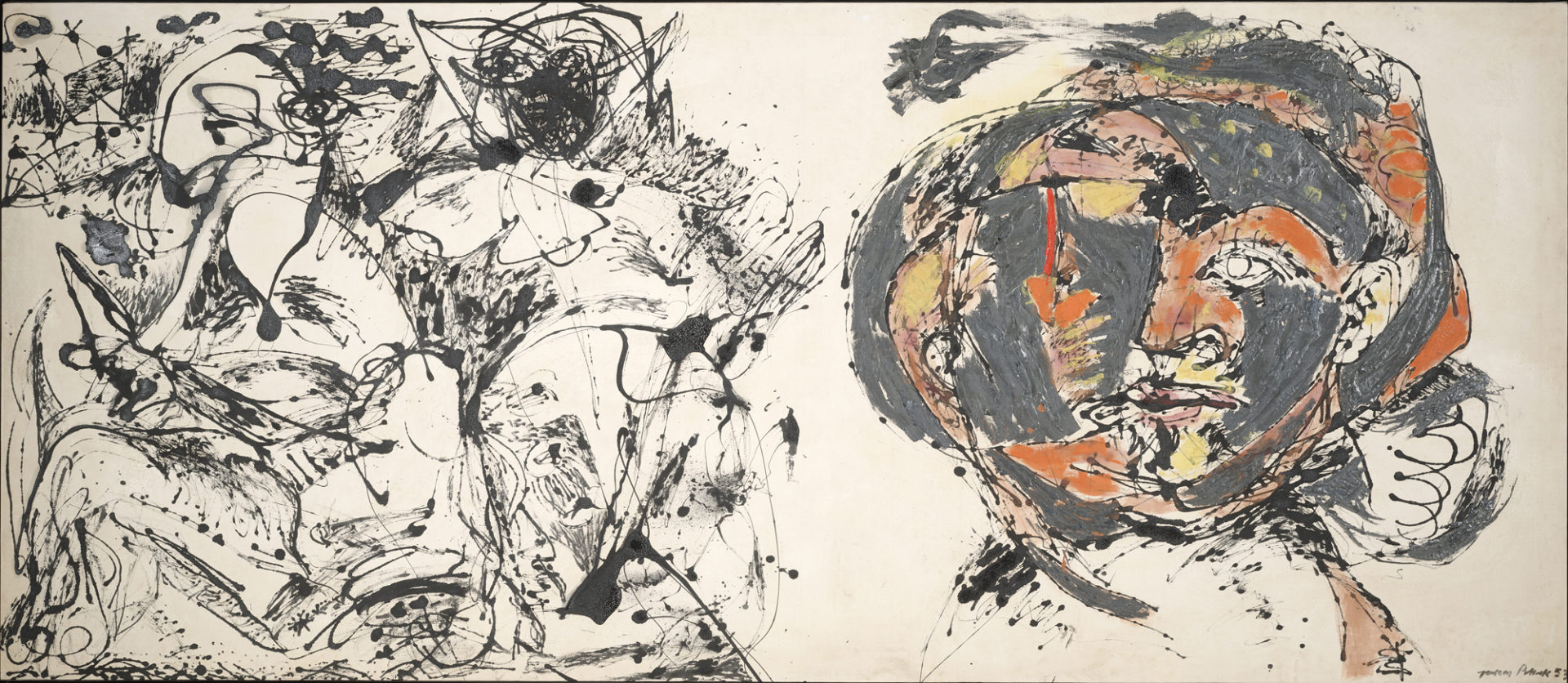 jackson pollock blind spots the london magazine jackson pollock portrait and a dream 1953 acirccopy pollock krasner foundation artists rights