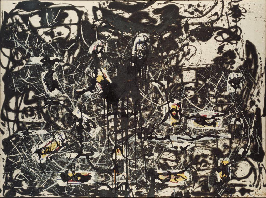 Jackson Pollock, Yellow Islands 1952 © The Pollock-Krasner Foundation ARS, NY and DACS, London 2015.