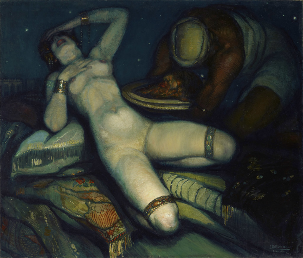 Salomé, 1918 Oil on canvas, 141 x 165 cm © Courtesy Stair Sainty gallery