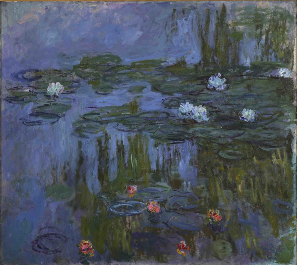 Claude Monet (French, 1840-1926), Nymphéas (Waterlilies), 1914-1915, oil on canvas