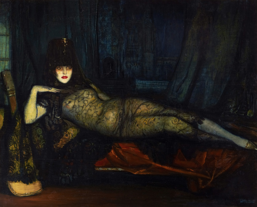 La Maja Maldita (The Wicked Maja), 1918 Oil on canvas, 161.5 x 202 cm © Courtesy Stair Sainty gallery