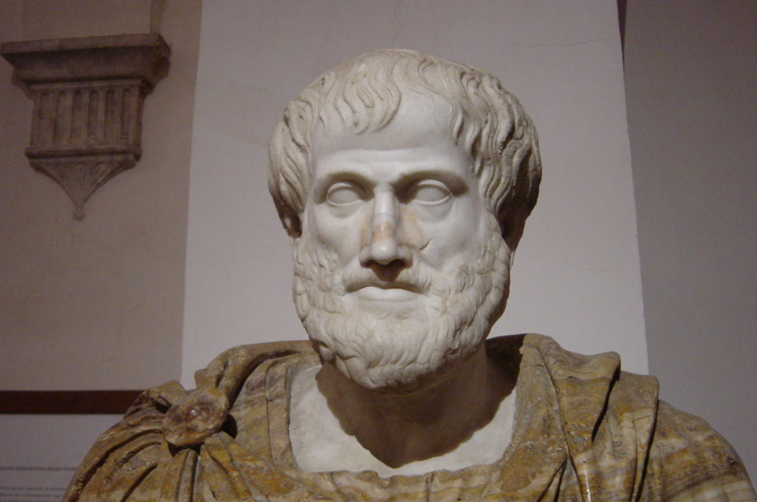 Aristotle: Happiness is living virtuously?