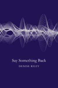 Denise Riley cover