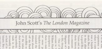 Title for Matthew Scott's essay 'John Scott's The London Magazine', first published in December 2008.