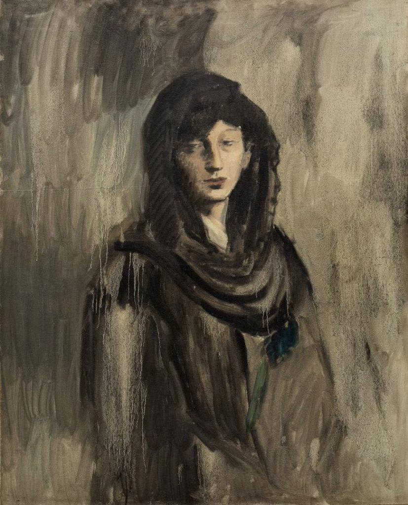 Pablo Picasso, Fernande with a Black Mantilla, Paris, 1905–06
