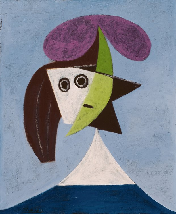 Woman in a Hat (Olga) by Pablo Picasso, 1935. Photograph: © Succession Picasso/DACS London
