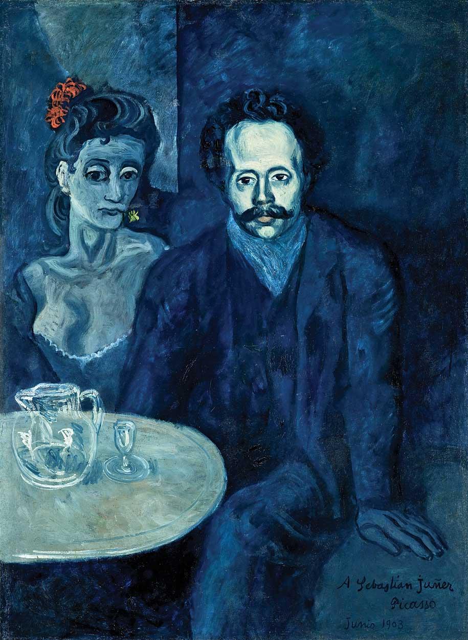 Fig. 5: Pablo Picasso (1881–1973) Portrait of Sebastià Junyer i Vidal, 1903 Oil on canvas, 49-3/4 x 37 inches
