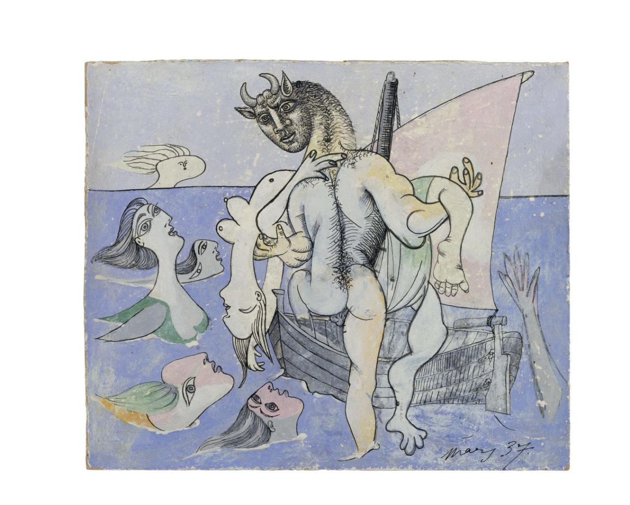 Picasso minotaurs and matadors at the gagosian the london