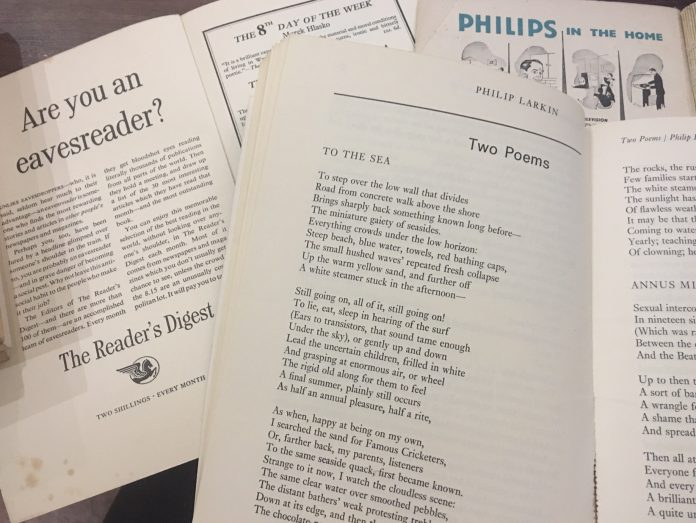 Thesis on philip larkin